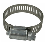 Hose Tube & Pipe Clamps - 1/2in Band Worm Gear Clamps