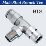 Stainless Push to Connect Fittings -Union Tee