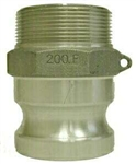 Cam & Groove Hose Fittings - Type F Aluminum