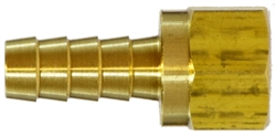 Brass Hose Barb Brass Fittings - Female 45 Degree Flare