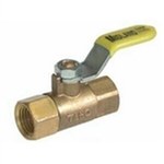 Brass Mini Valve- Female X Female