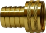 Garden Hose Brass Fittings - Female GHT X HB