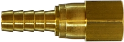 Brass Hose Barb Brass Fittings - Female Swivel Adapter