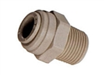 NSF-61 Push to Connect Fittings - Rigid Elbow Tube X Thread