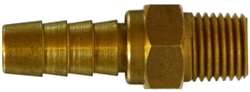 Brass Hose Barb Brass Fittings - High Volume Male Swivel