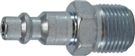Industrial Interchange Steel Male Plug