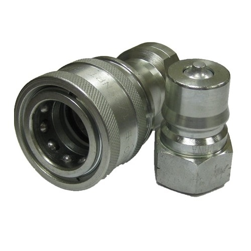 """10 Sets of 3//8/"""" ISO-B Hydraulic Quick Couplers"""