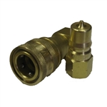 ISO B 7241 Set Brass