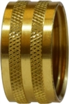 Garden Hose Fitting: Knurled Garden Hose Nut | Hose & Fitting Supply