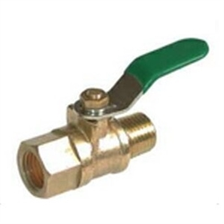Brass Mini Valve- Male X Female