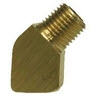 Brass Pipe Fittings for Hoses - 45 Degree Street Elbow