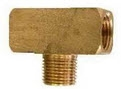 Brass Pipe Fittings for Hoses - Branch Tee-
