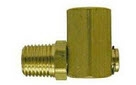 Brass Pipe Fittings for Hoses - 90 Degree Street Elbow Swivel