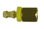 Brass Push on Female Adapter