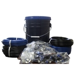 Composite Push to Connect Hose Fittings - Pail of Fittings Kit - 250