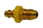 Brass Push on Male JIC Flare