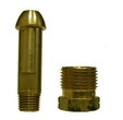 POL Bottled Gas Brass Hose Fittings - POL Tailpiece and Nut Assembly