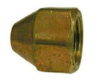 POL Bottled Gas Brass Hose Fittings - POL Cap