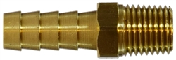 Brass Hose Barb Brass Fittings - Rigid Male Adapter