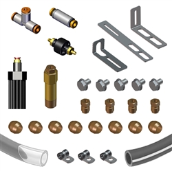 Automobile Oiler Hose Spare Part Kits - Add a Line Slice Kit