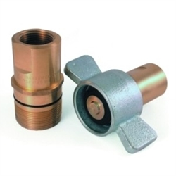 Wet line Coupler, Dry Break Couping
