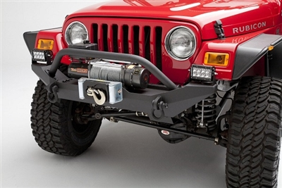 Body Armor 4x4 Front Winch Bumper for 1987-2006 YJ & TJ