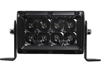 Rigid Industries E-Series Midnight Edition Flush Mount LED Light
