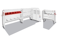 Weather Guard Van Shelving Packages