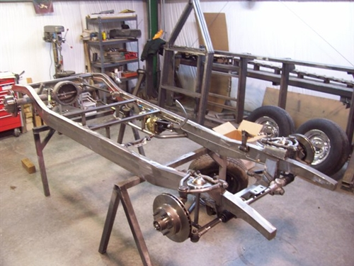 1934-1935 Chevy Standard Car Chassis