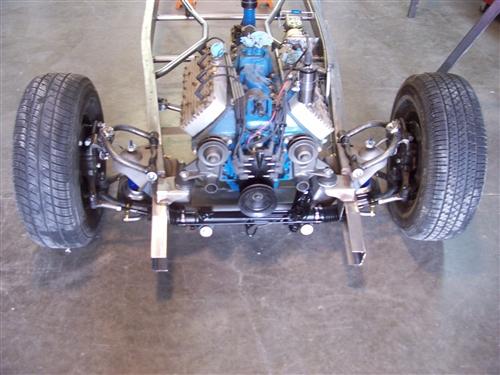 Heidts Mustang II IFS