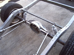 Triangulated 4 Bar Kit, Polished Stainless