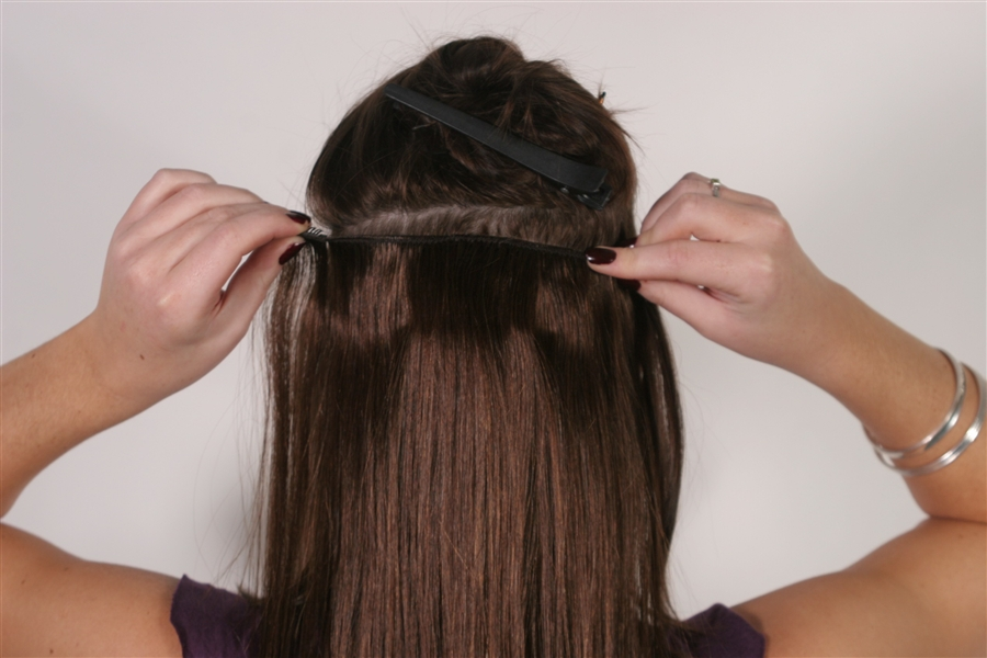 16 Remy Clip In Hair Extensions