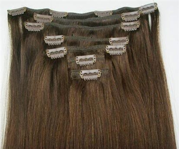 "18"" Clip In Hair Extensions ON SALE 100% Human Hair"