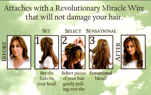 18 flip in halo quickly and easily transform your hair pmusecretfo Choice Image