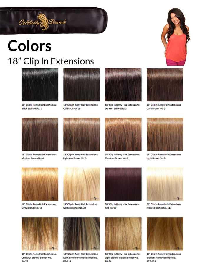 Celebrity Strands Clip In 18 Extensions Voted 1 By Women Across