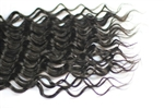 "18"" human hair track extensions- Deep Wave"