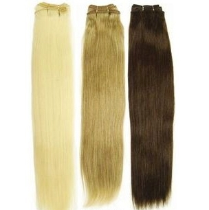 "22"" human hair track extensions- Straight"