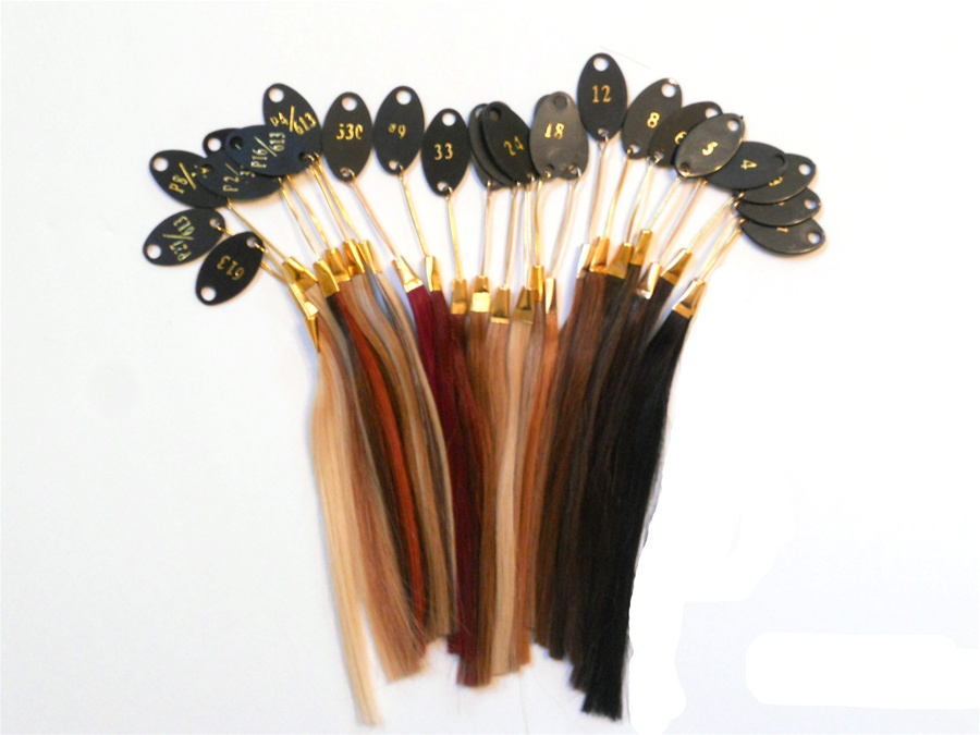 Hair Extension Sample Number 27 Honey Blond