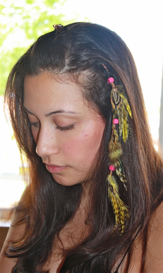 Feather Extensions Clip On