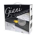 Giani Granite Countertop Paint Kit Bombay Black