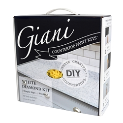 Giani Granite Countertop Paint Kit White Diamond