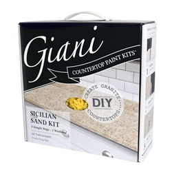 Giani Granite Countertop Paint Kit Sicilian Sand