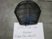 Bad Boy Mower Part - 015-2716-00 - Kohler Fixed Fan Guard