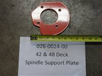 Bad Boy Mower Part - 42&48 Deck Spindle Support Plate
