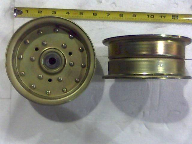 Bad Boy Mower Part - 033-5001-00 - 5 3/4 Flat Idler-208032092, Double Width Pulley