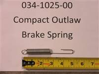 Bad Boy Mower Part 2016 Compact Outlaw Brake Spring