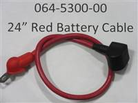 Bad Boy Mower Part 24 Red Battery Cable