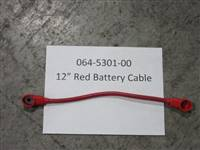 Bad Boy Mower Part 12 Red Battery Cable