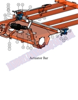 Bad Boy Mower Part - 2007 PUP ACTUATOR BAR