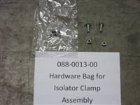 Bad Boy Mower Part Hardware bag for Isolator Clamp Assembly  BAD 10